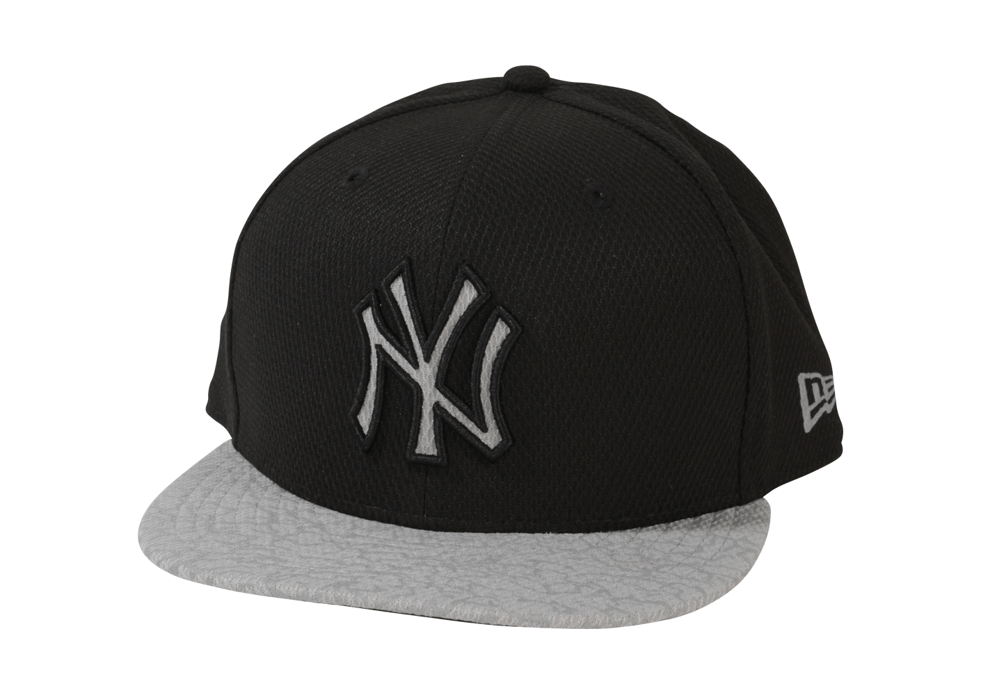 new era casquette snapback ny reflective noir argent casquettes chausport. Black Bedroom Furniture Sets. Home Design Ideas