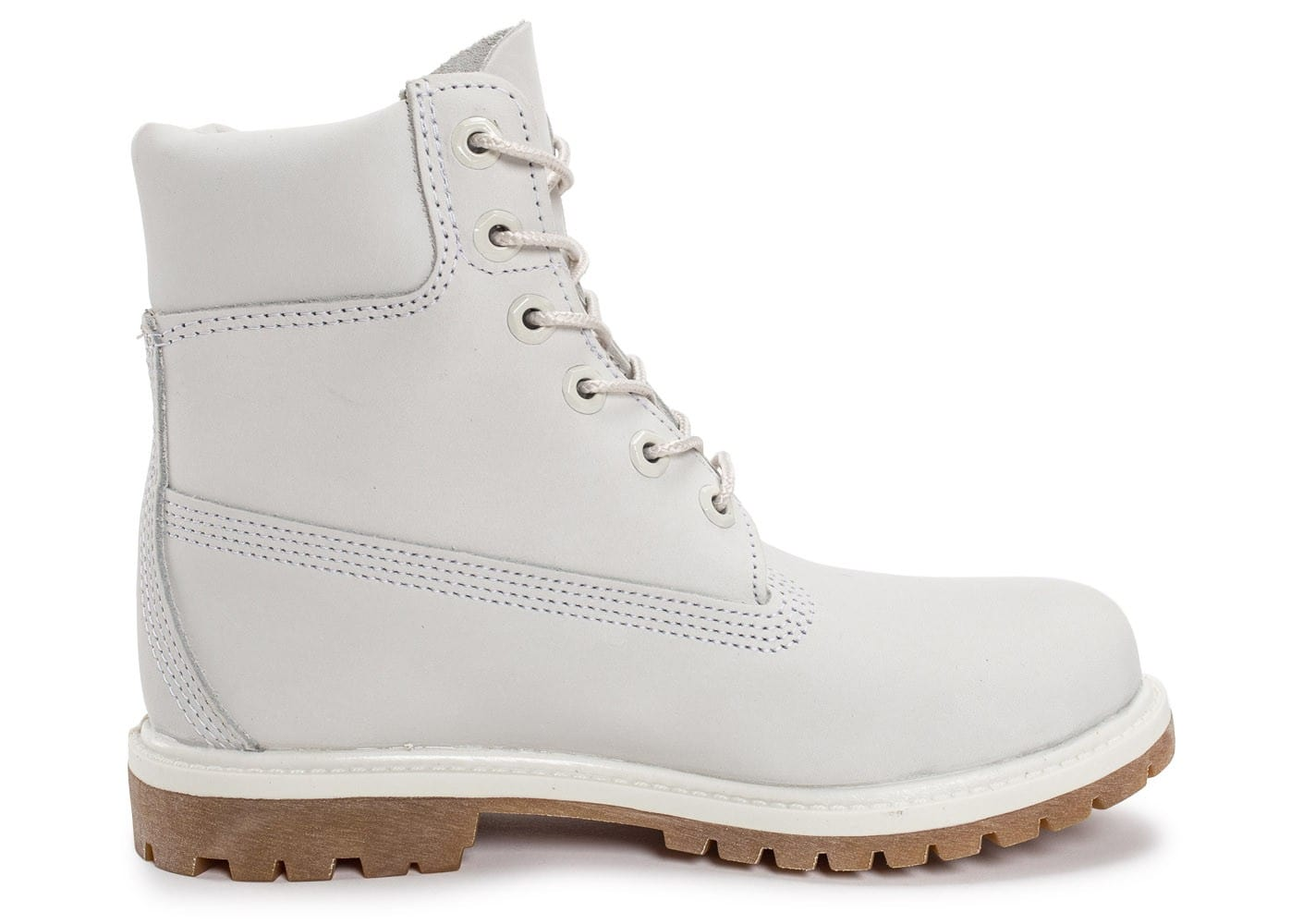 timberland 6 inch premium boots blanche chaussures femme. Black Bedroom Furniture Sets. Home Design Ideas