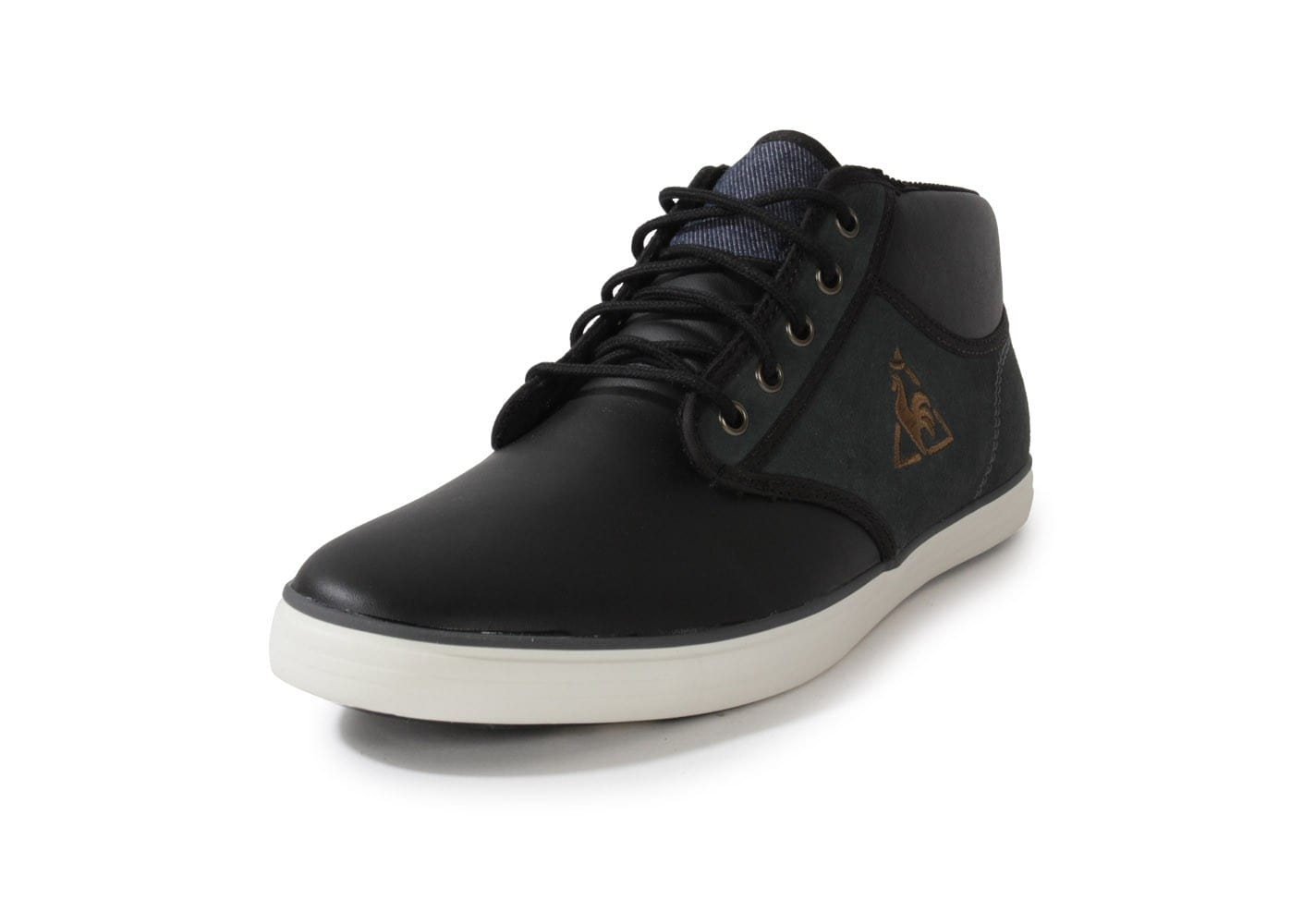 le coq sportif brancion anthracite chaussures homme chausport. Black Bedroom Furniture Sets. Home Design Ideas