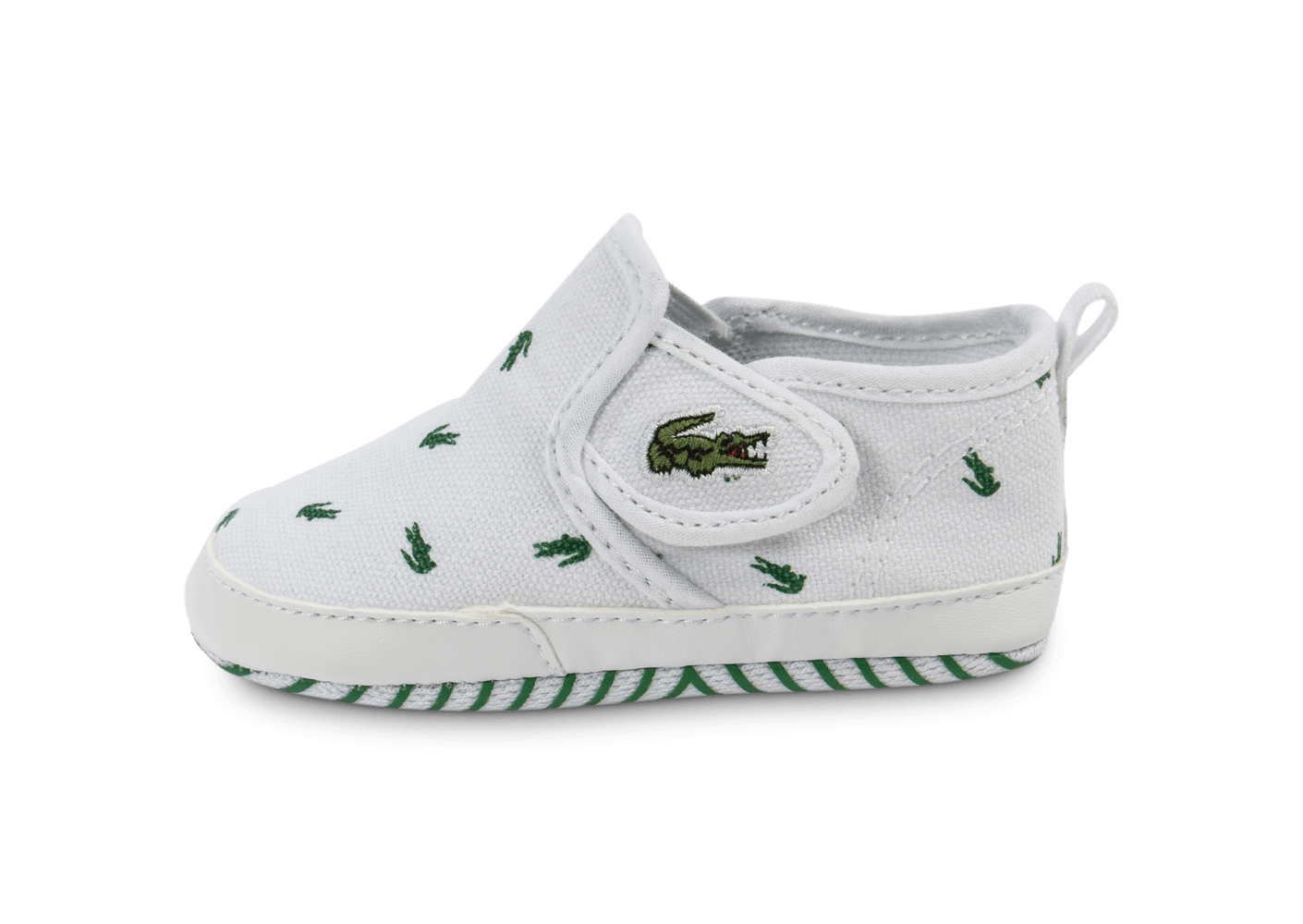 lacoste gazon b b blanche chaussures enfant chausport. Black Bedroom Furniture Sets. Home Design Ideas