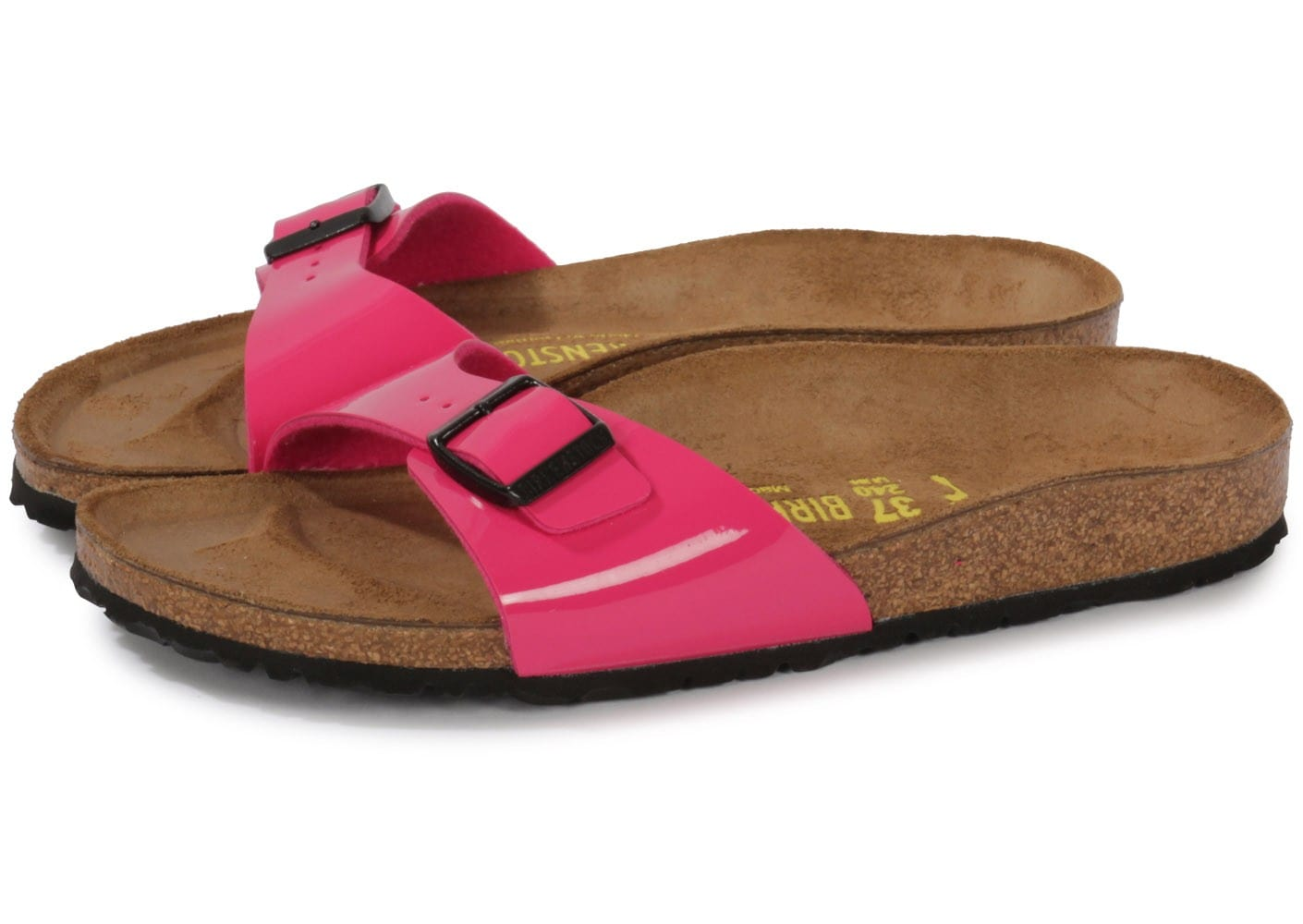 birkenstock madrid vernis rose chaussures chaussures chausport. Black Bedroom Furniture Sets. Home Design Ideas