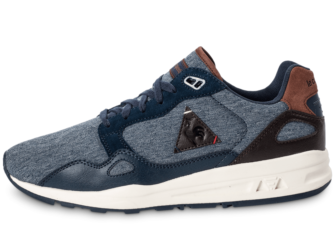 le coq sportif lcs r900 2 tones bleu marine chaussures homme chausport. Black Bedroom Furniture Sets. Home Design Ideas
