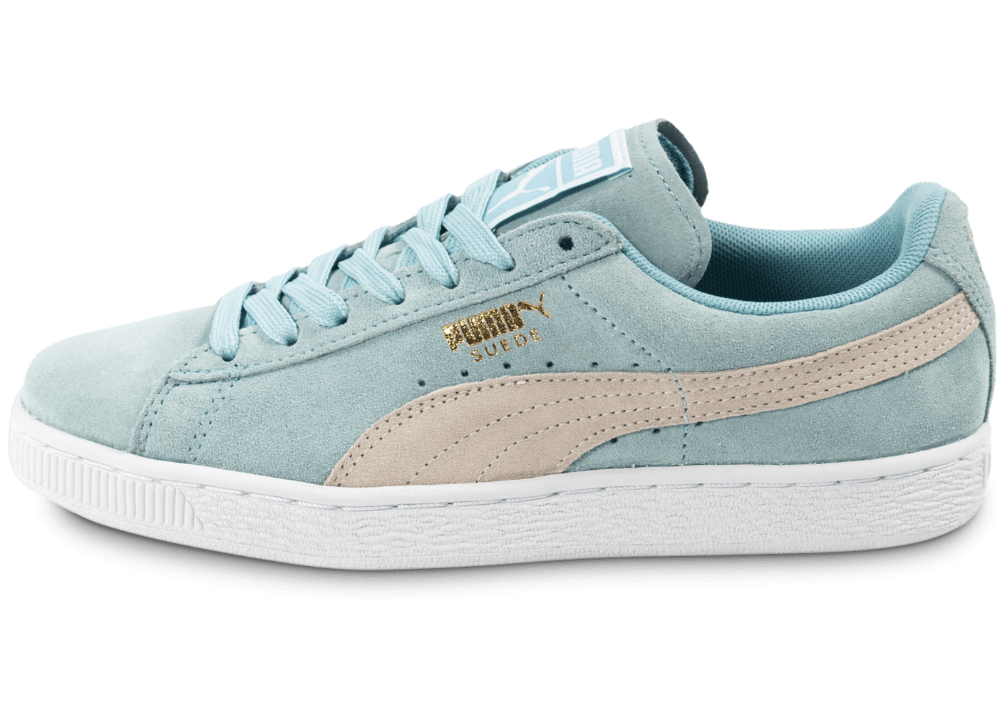puma suede classic w bleu ciel chaussures chaussures chausport. Black Bedroom Furniture Sets. Home Design Ideas