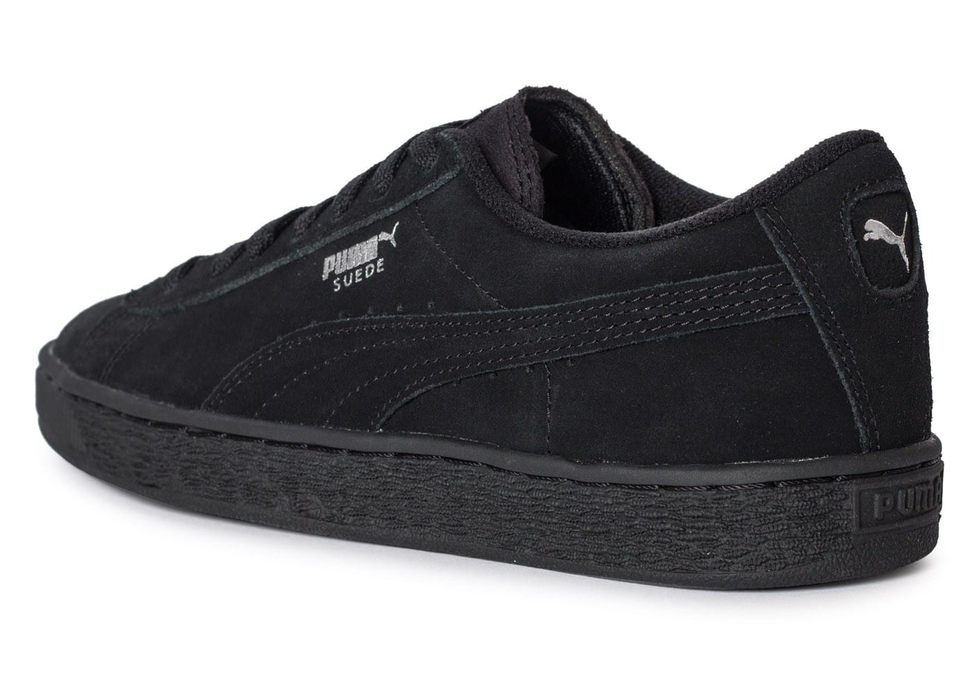 puma suede classic junior noire chaussures black friday chausport. Black Bedroom Furniture Sets. Home Design Ideas