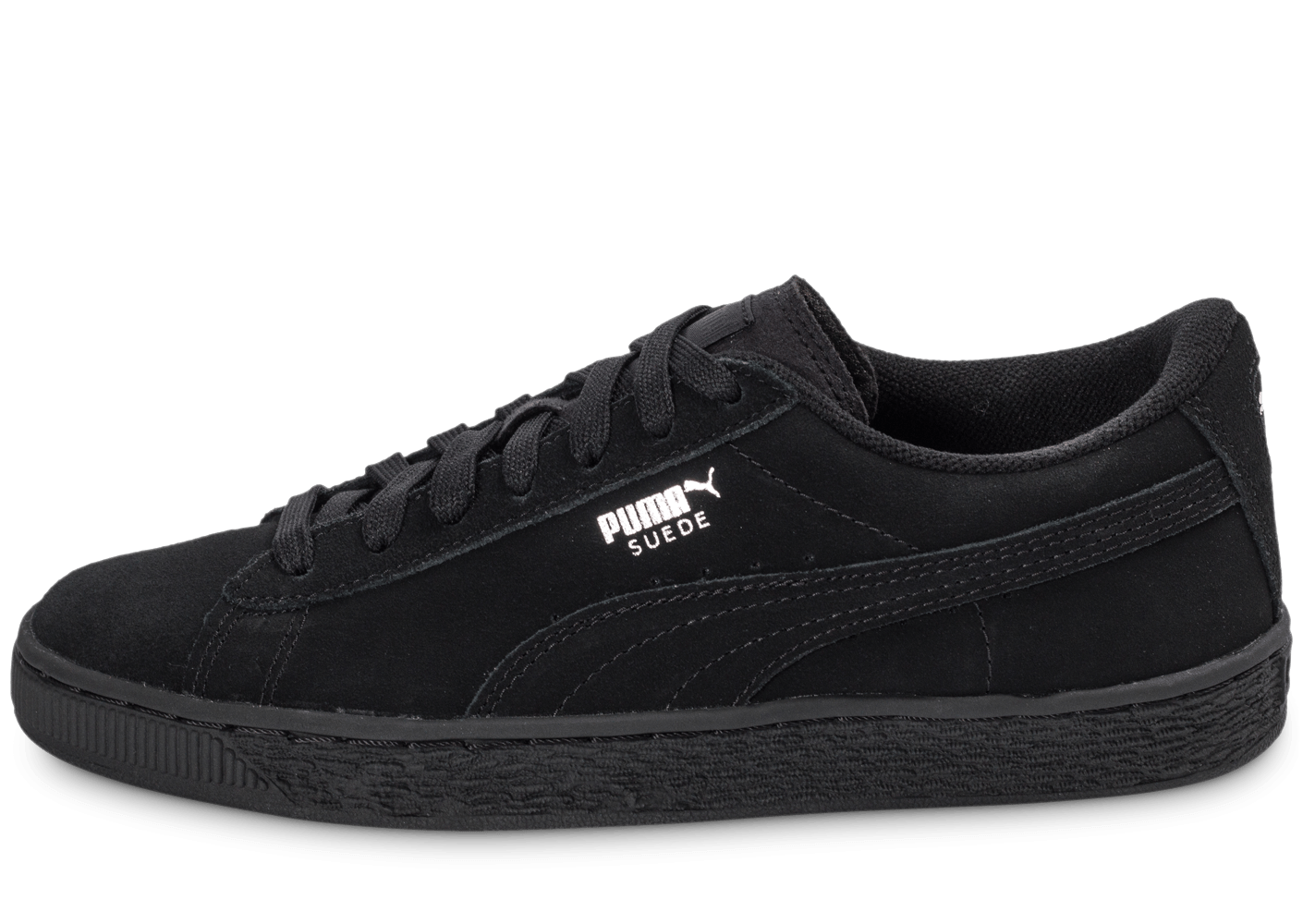puma suede classic junior noire chaussures black friday. Black Bedroom Furniture Sets. Home Design Ideas