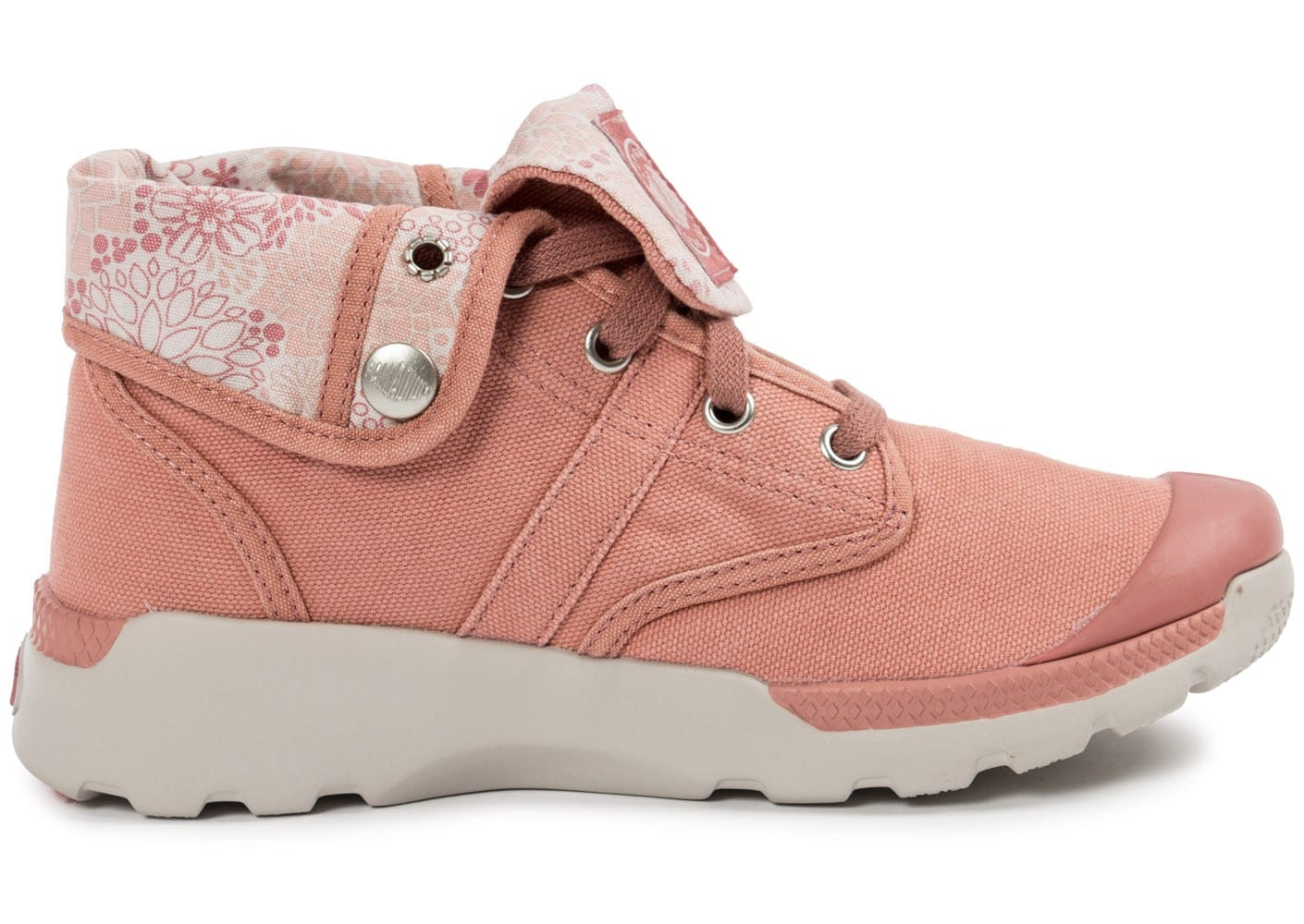 palladium pallaville baggy old rose - chaussures -50  sur le 2e article