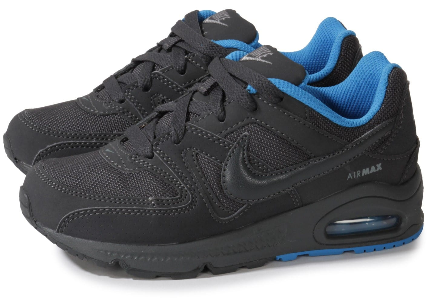nike air max command enfant anthracite chaussures chaussures chausport. Black Bedroom Furniture Sets. Home Design Ideas