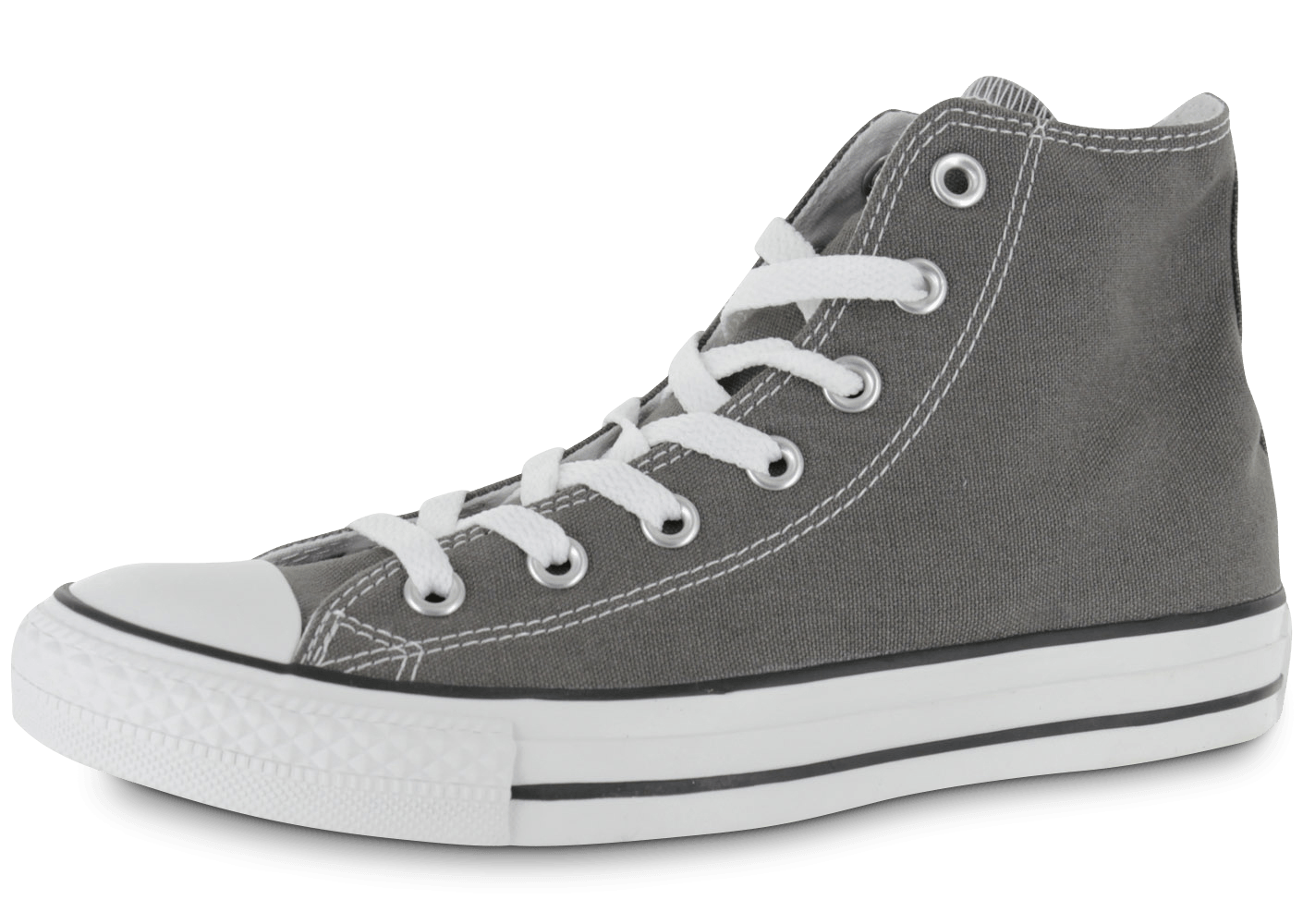 converse chuck taylor all star hi grise chaussures femme chausport. Black Bedroom Furniture Sets. Home Design Ideas