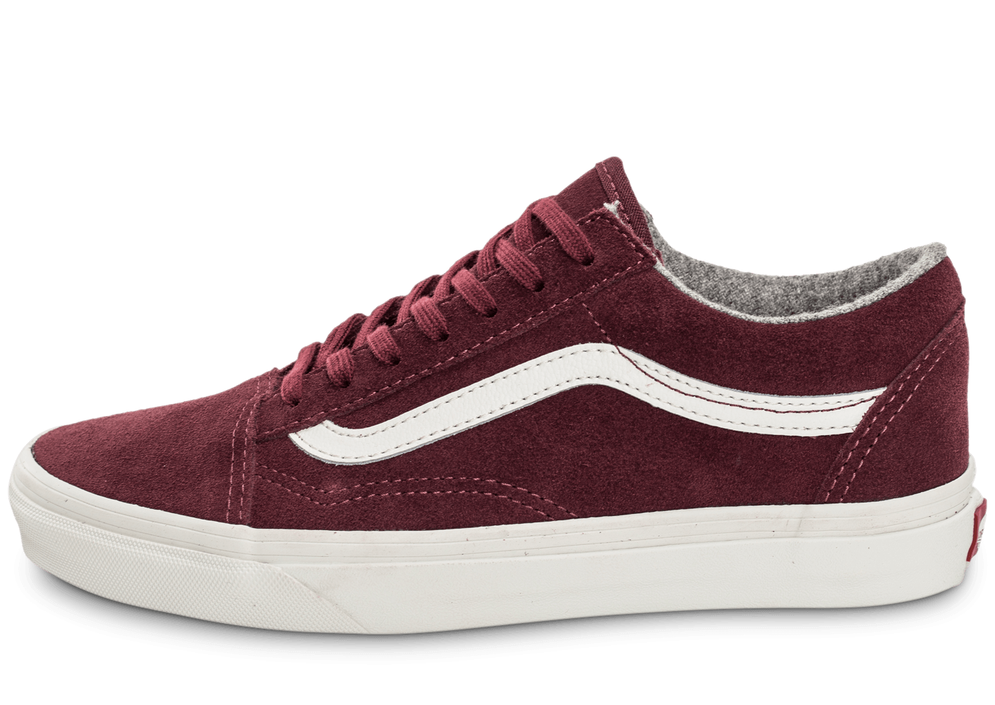 vans old skool suede bordeaux chaussures femme chausport. Black Bedroom Furniture Sets. Home Design Ideas