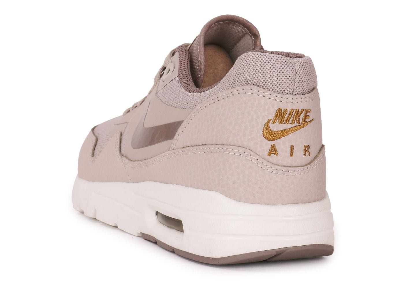nike air max 1 ultra essentials beige chaussures chaussures chausport. Black Bedroom Furniture Sets. Home Design Ideas