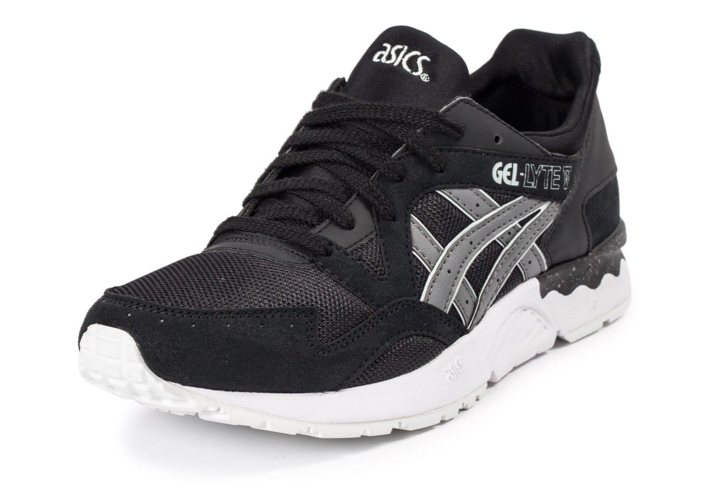 asics gel lyte v core plus noire chaussures homme chausport. Black Bedroom Furniture Sets. Home Design Ideas