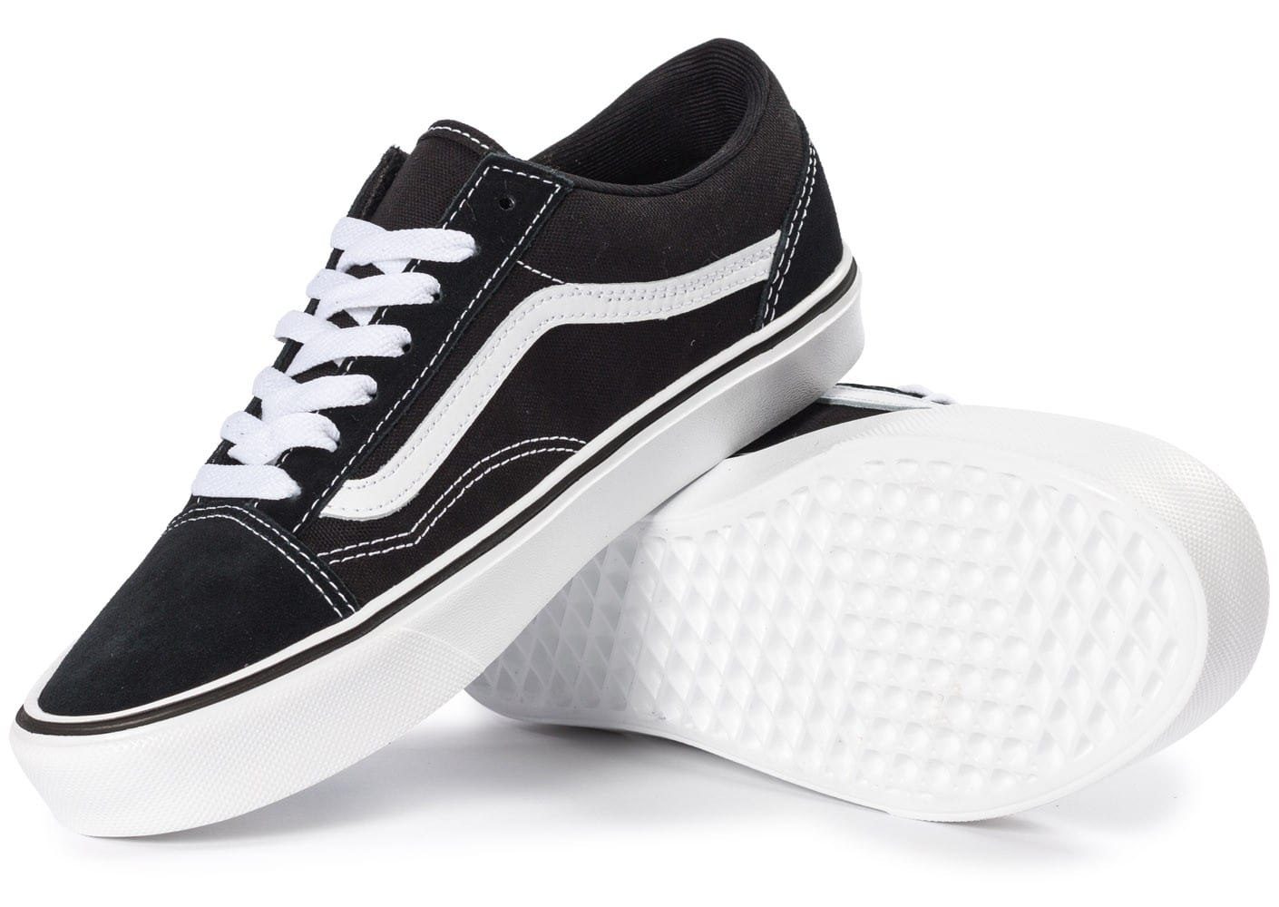vans old skool noire et blanche chaussures chaussures chausport. Black Bedroom Furniture Sets. Home Design Ideas