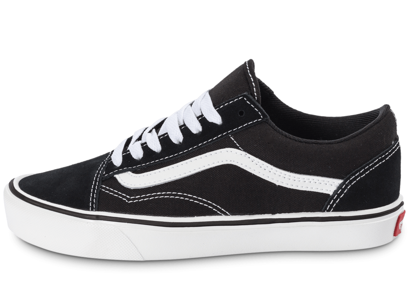 vans old skool noire et blanche chaussures femme chausport. Black Bedroom Furniture Sets. Home Design Ideas