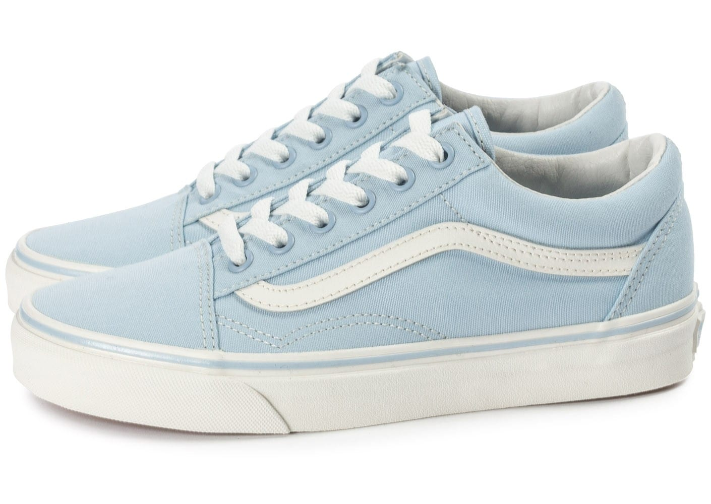 vans old skool skyway bleue chaussures chaussures chausport. Black Bedroom Furniture Sets. Home Design Ideas