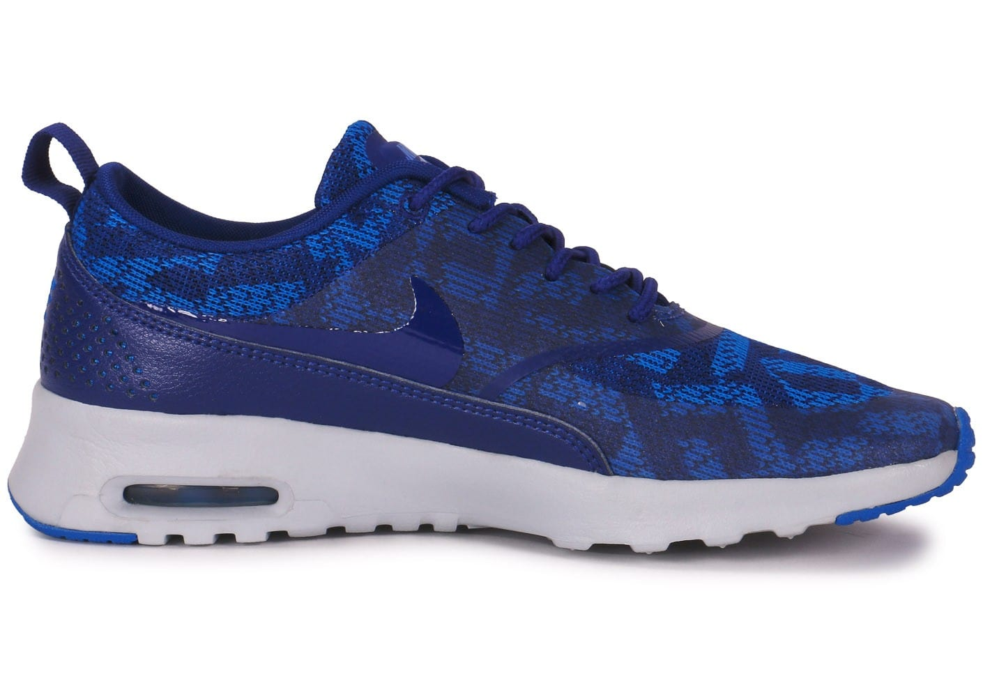 nike air max thea jacquard bleue chaussures chaussures chausport. Black Bedroom Furniture Sets. Home Design Ideas
