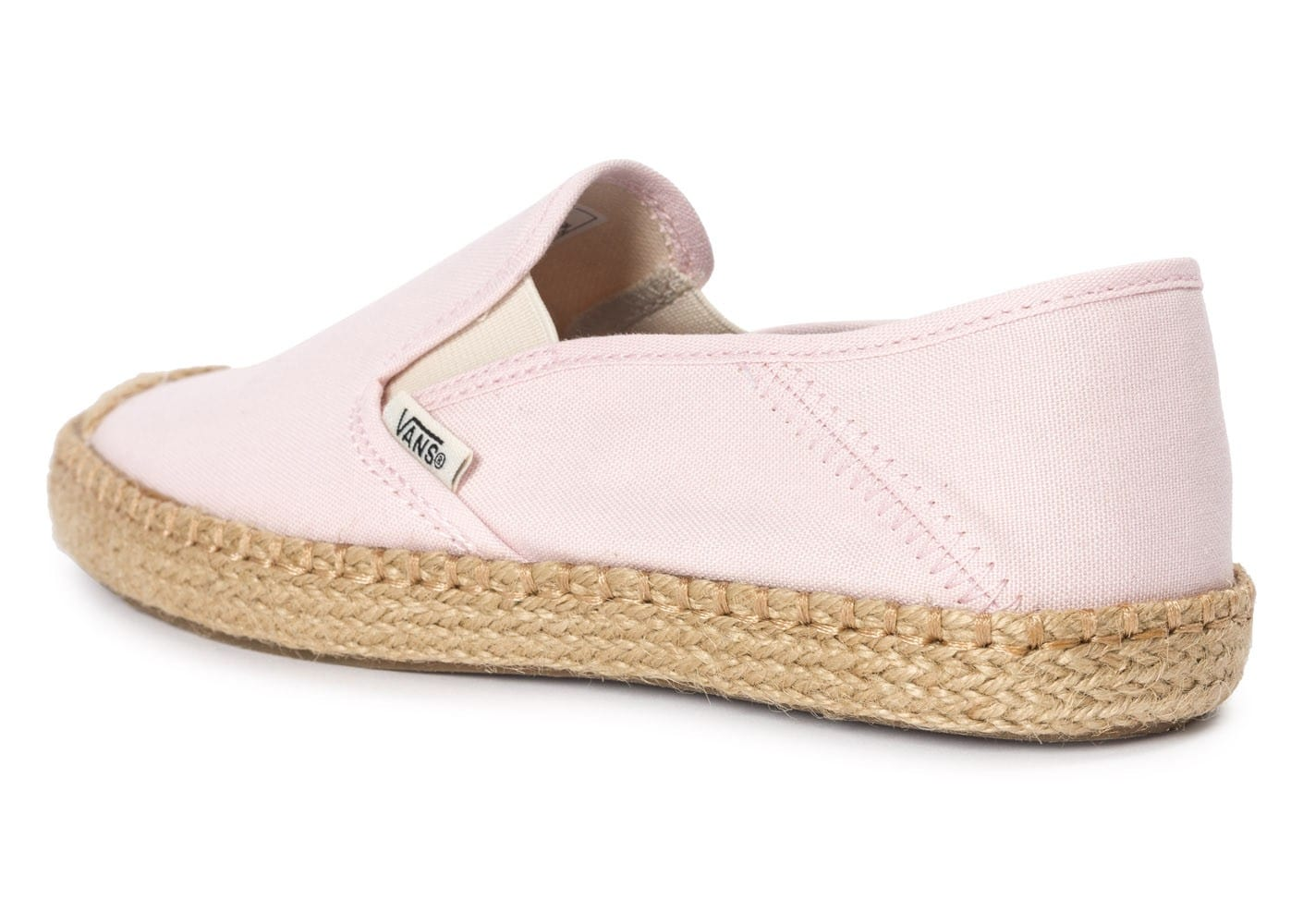 vans slip on espadrille rose chaussures chaussures chausport. Black Bedroom Furniture Sets. Home Design Ideas