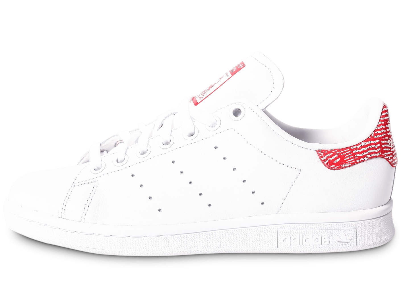 adidas stan smith collegiate rouge chaussures adidas chausport. Black Bedroom Furniture Sets. Home Design Ideas