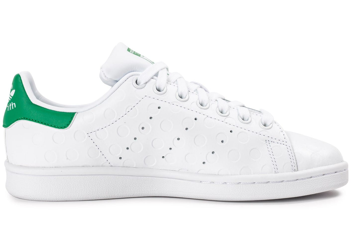 adidas stan smith rubber polka dot blanche chaussures. Black Bedroom Furniture Sets. Home Design Ideas