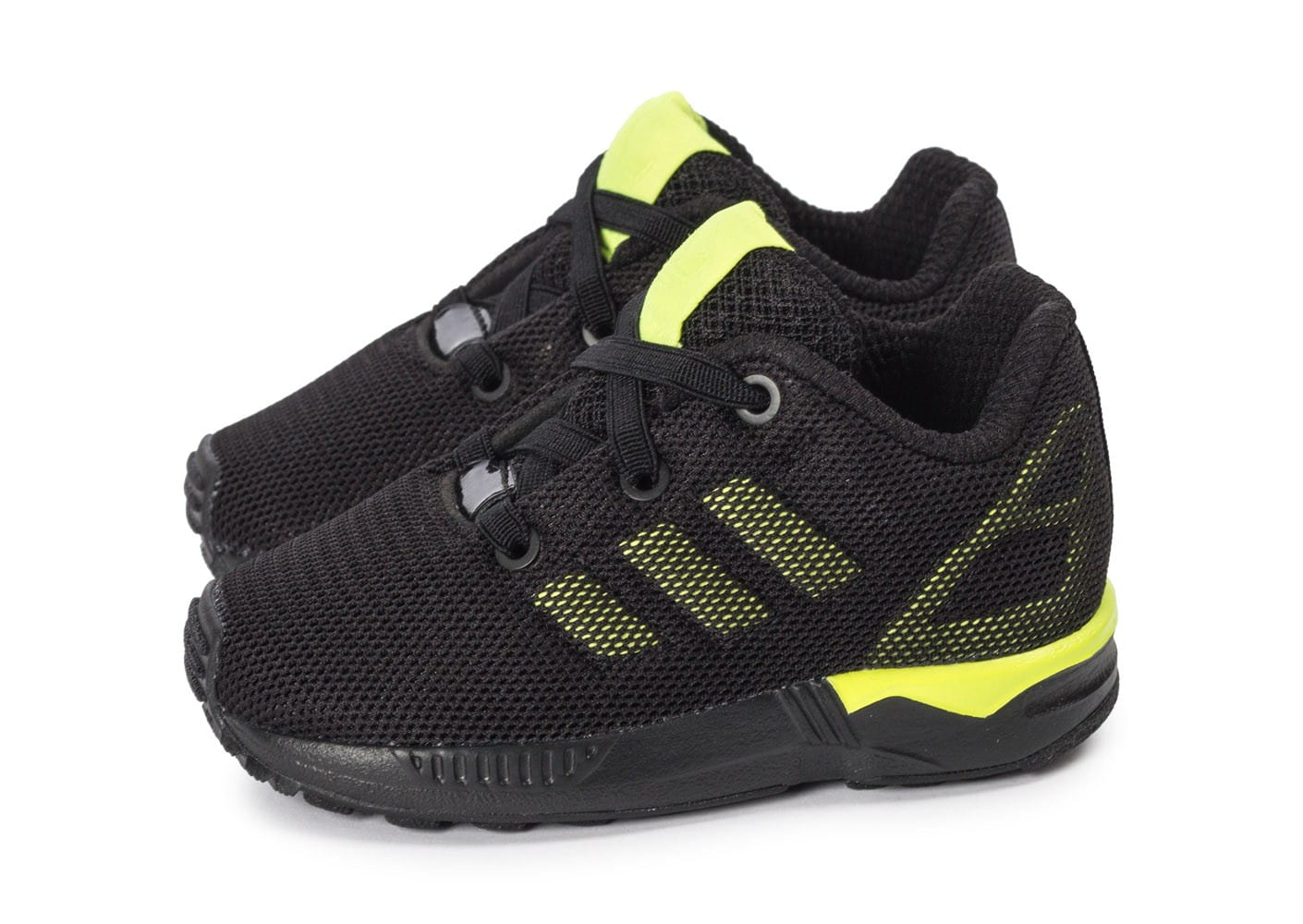 adidas zx flux lace adidas zx flux adv Noir and Blanc adidas zx