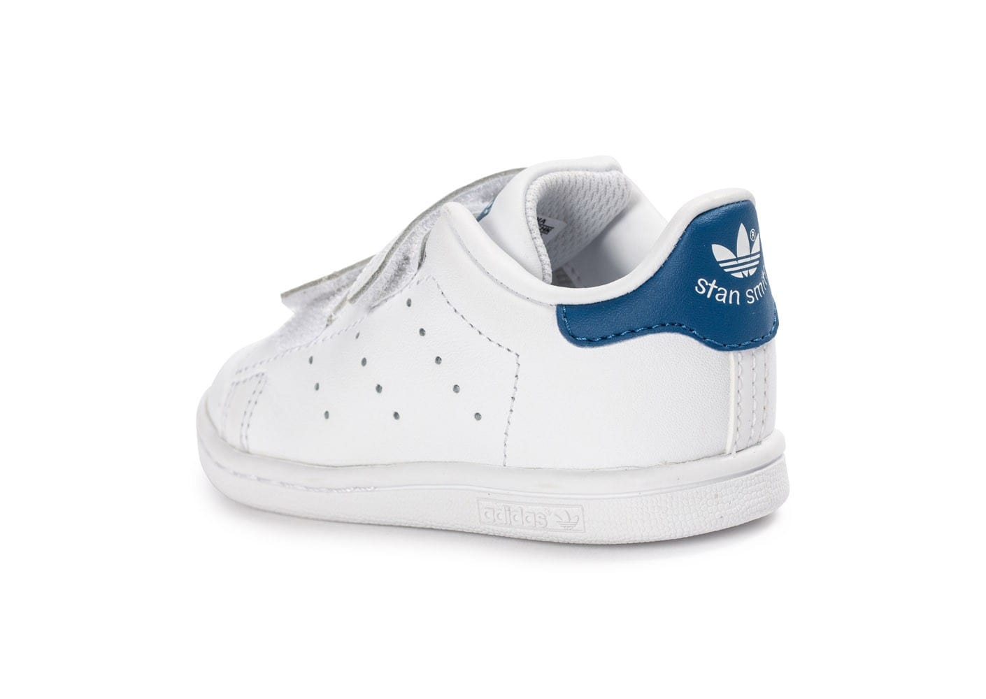 adidas stan smith b b blanche et bleue chaussures. Black Bedroom Furniture Sets. Home Design Ideas