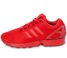 Chaussures adidas Zx Flux rouge