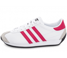 Chaussures adidas Country OG Junior blanche et rose