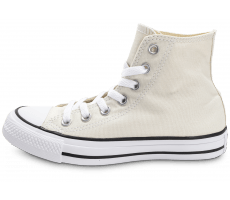 Chaussures Converse Chuck Taylor All Star montante beige