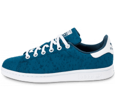Chaussures adidas Stan Smith Textile Junior bleue