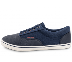 Chaussures Jack & Jones Vision Mix grise bleu marine