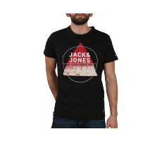 Textiles Jack & Jones T-Shirt Square noir