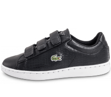 Chaussures Lacoste Carnaby Evo Croc enfant noir