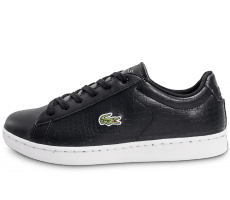 Chaussures Lacoste Carnaby EVO Croc noir et blanche