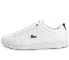 Chaussures Lacoste Carnaby EVO Croc blanche et bleu