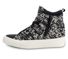 Chaussures Converse Chuck Taylor All-Star 2 Selene Winter Knit noire