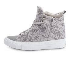 Chaussures Converse Chuck Taylor All-Star 2 Selene Winter Knit grise