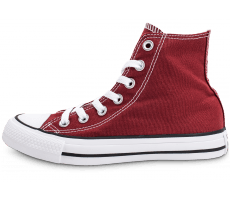 Chaussures Converse Chuck Taylor All-Star Mid bordeaux