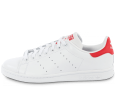 Chaussures adidas Stan Smith Blanche et rouge