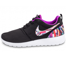 Chaussures Nike Roshe One Print noire