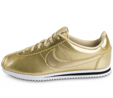 Chaussures Nike Cortez SE Junior Metallic Gold