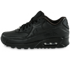 Chaussures Nike Air Max 90 Leather noire