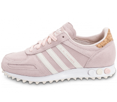 Chaussures adidas L.A Trainer rose