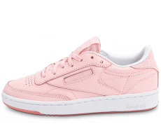 Chaussures Reebok Club C85 Face Stockholm rose