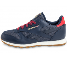 Chaussures Reebok Classic Leather DG Junior bleu marine