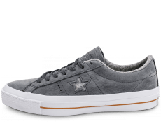 Chaussures Converse One Star Nubuck grise