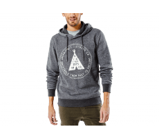 Textiles Jack & Jones Sweat à capuche Paint Raven
