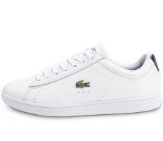 Chaussures Lacoste Carnaby Evo Croc blanche bleu
