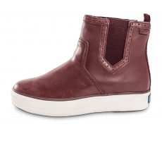 Chaussures Keds Bottines Triple Chelsea bordeaux