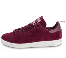 Chaussures adidas Stan Smith Suede bordeaux