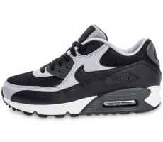 Chaussures Nike Air Max 90 Essential noire et grise