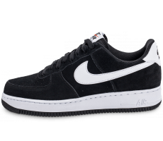 Chaussures Nike Air Force 1 Suede noire